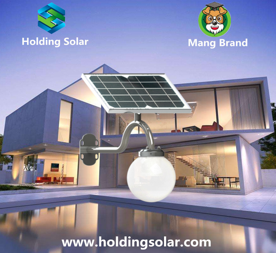 Energy Saving Solar LED Lamp with Intelligent Light Control