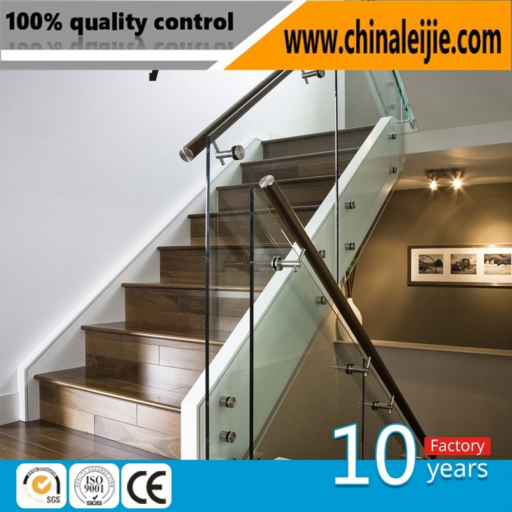 High Quality Standoff Glass Handrail/Glass Staircase/Glass Decoration/Glass Pillar