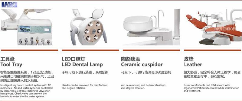 High Quality Luxurious Dental Unit Equipment