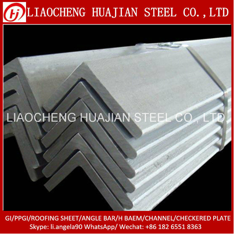 Hot Rolled Ss400 Mild Steel Angle Bar for Bracket