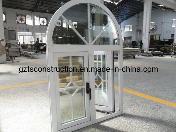 Double Glazing Window Aluminium Casement Window with AS/NZS2208 Glass