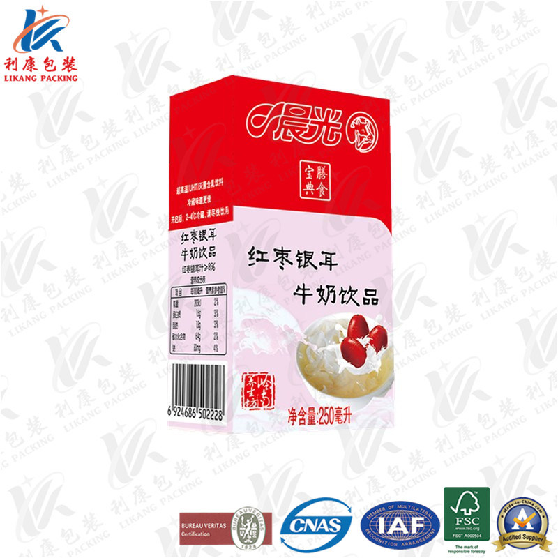 250 Ml Aseptic Packaging Material for Fresh Milk