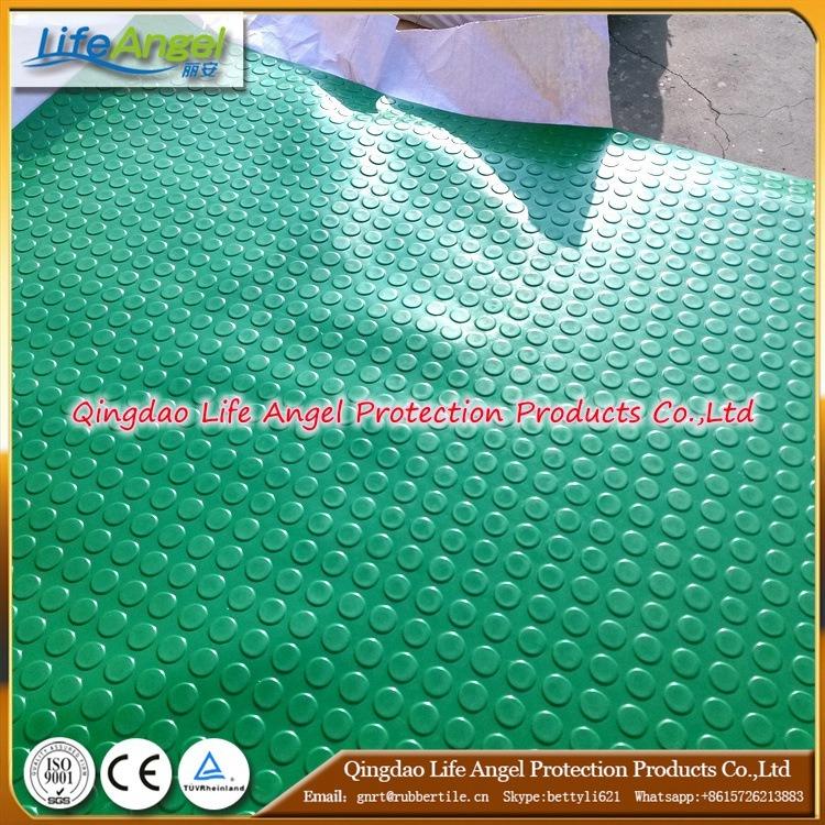 Cheap and High Density Green Coloranti-Slip Rubber Sheet