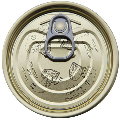 300# Tin Easy Open Lid