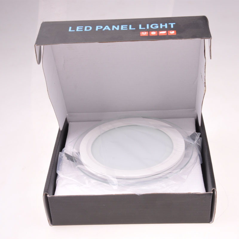 Top Quality Round Aluminum+Glass 5W/9W/12W/18W30W LED Panel Light