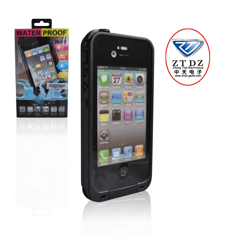 China Wear Resistant Waterproof Case For IPhone 4 4s