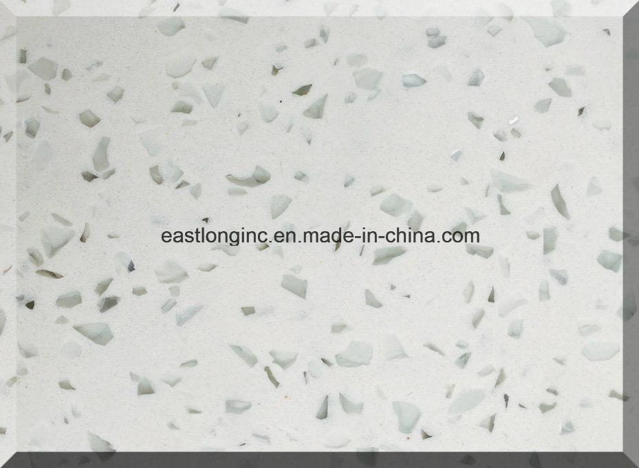 China Single Color Artificial Quartz Stone for Countertops