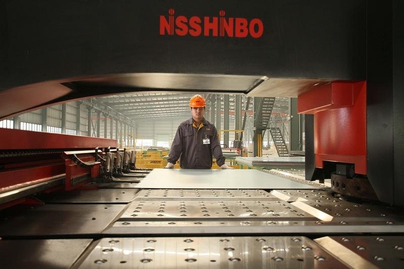 Machine Room Passenger Lift with Titanium Mirror Stainless Steel Car