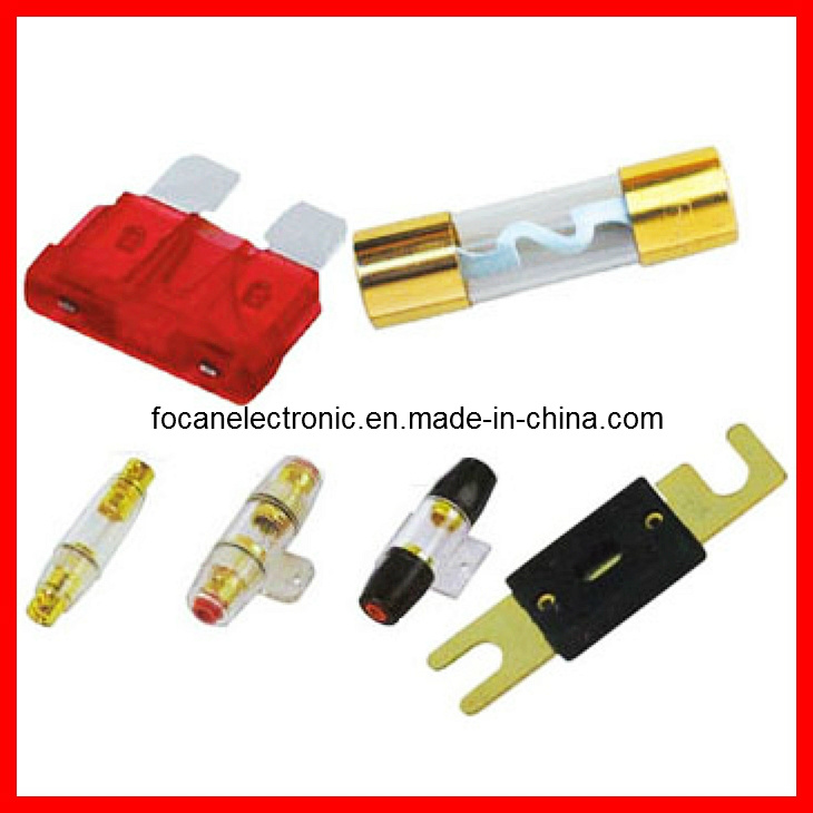 Car Blade Fuse & Auto Plug-in Fuse & Car Fuse Holder