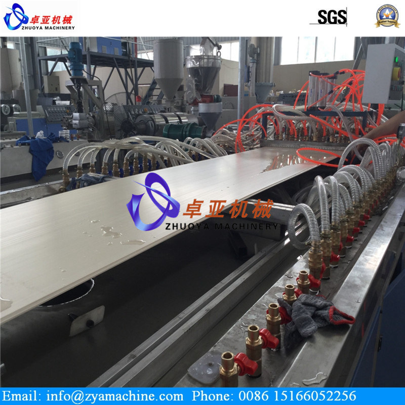 WPC Lightweight Hollow Wall Decoration Panel Machine/Plastic Extruder