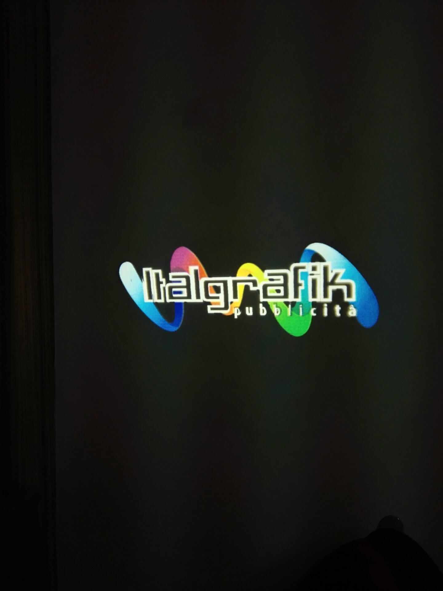 20W Full Color LED Sign Logo Projector Lamp
