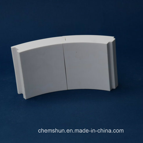 Al2O3 Alumina Ceramic Tubes / Bend Pipe / Alumina Tube From Chinese Manufacturer