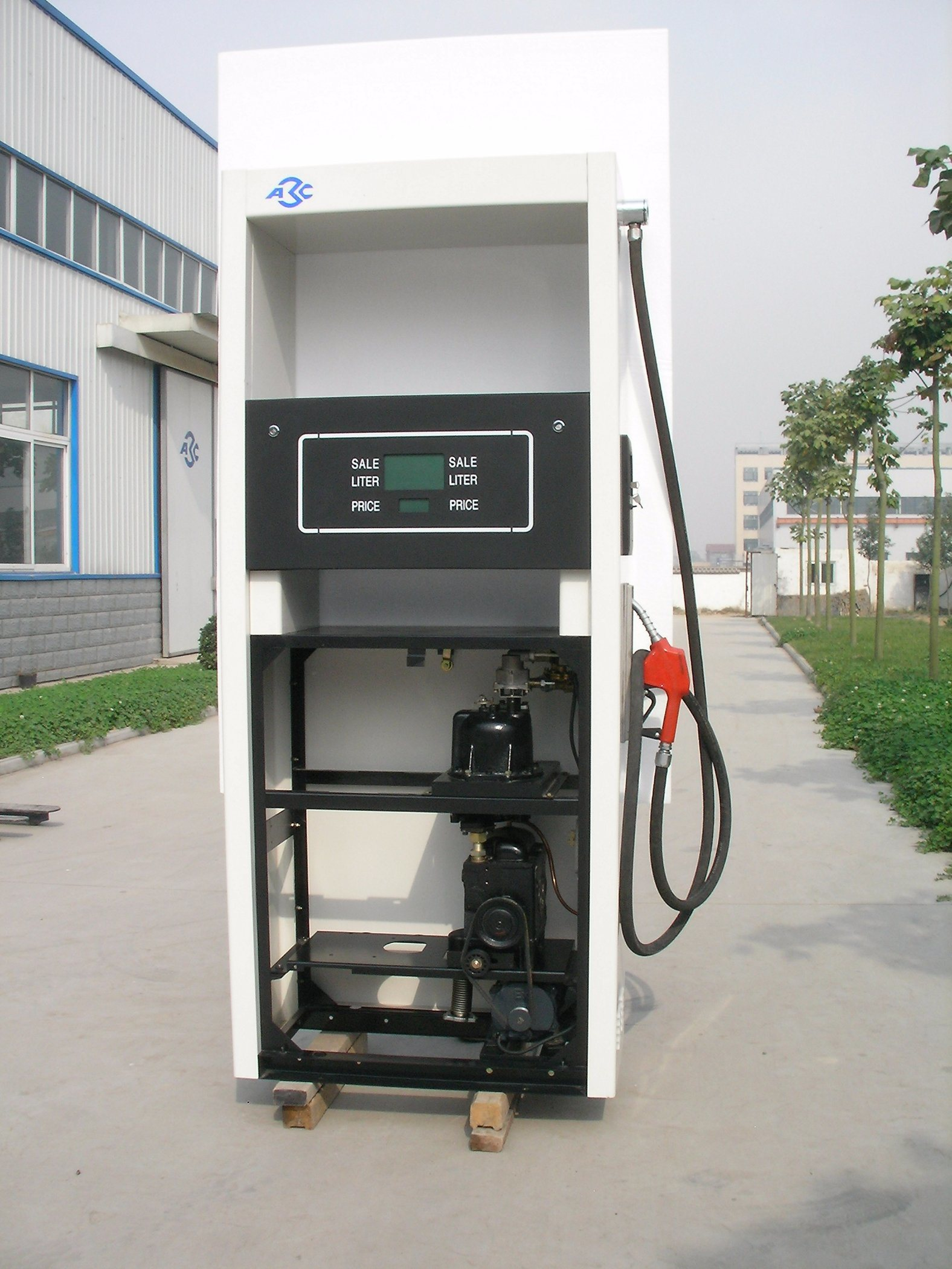 One Nozzle One Pump Gas Station Fuel Dispenser