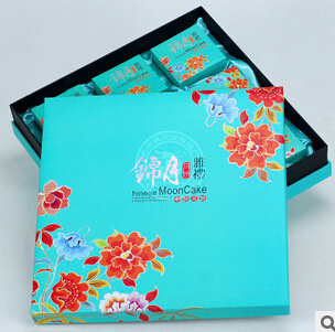 Fast Selling Chinese Mooncake Paper Gift Box
