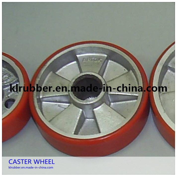 Nylon / PU Steering Wheel for Hand Pallet Truck