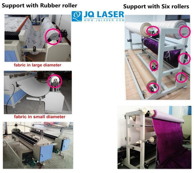 Automatic Feed Fabric Leather Cutting Machine for Garment Sofa
