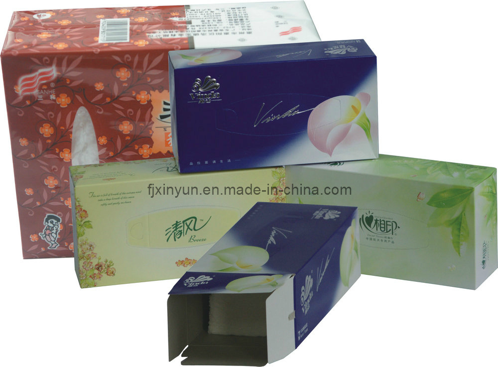 High-Speed Automatic Box Drawing Facial Tissue Paper Production Line