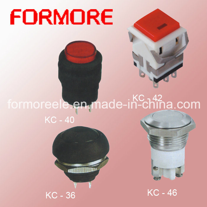 Different Types of Push Button /Putton Button Switch