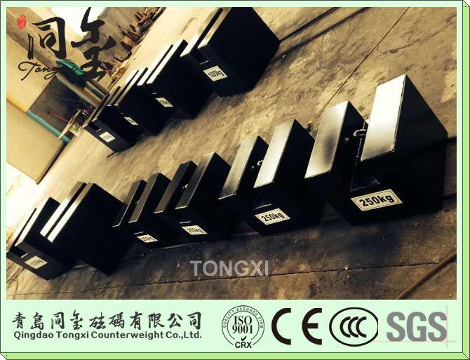 M1 50kg Cast Iron Test Weight M1 50kg Grip Handle Iron Weights