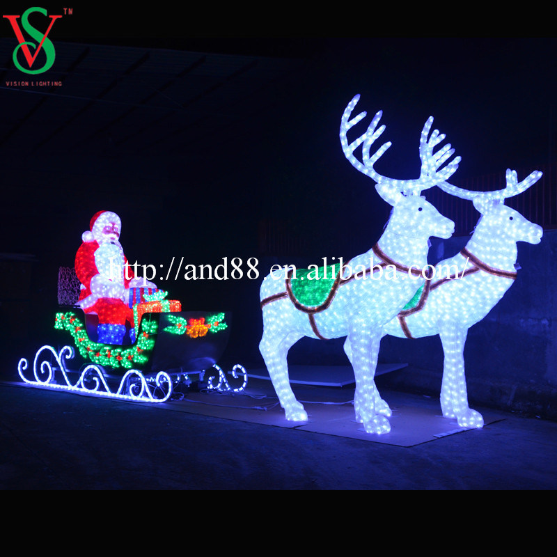 LED Decorative Deer Outdoor Lighting