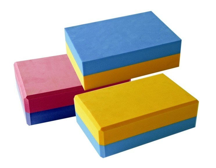 Cavaletti Blocks,Foam  Block, Two Color Block, Yoga Brick