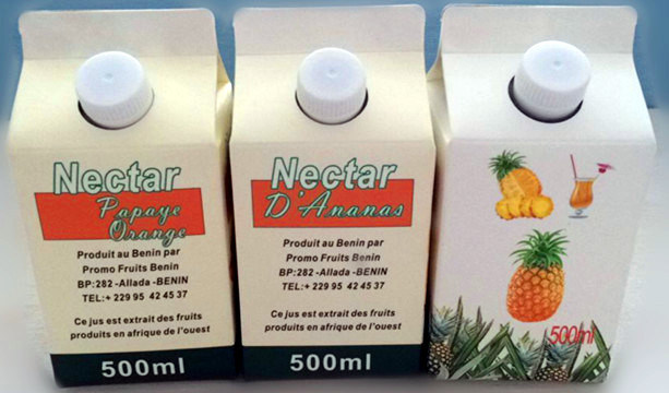 Packing Material of Mini 500ml Juice Gable Top Carton