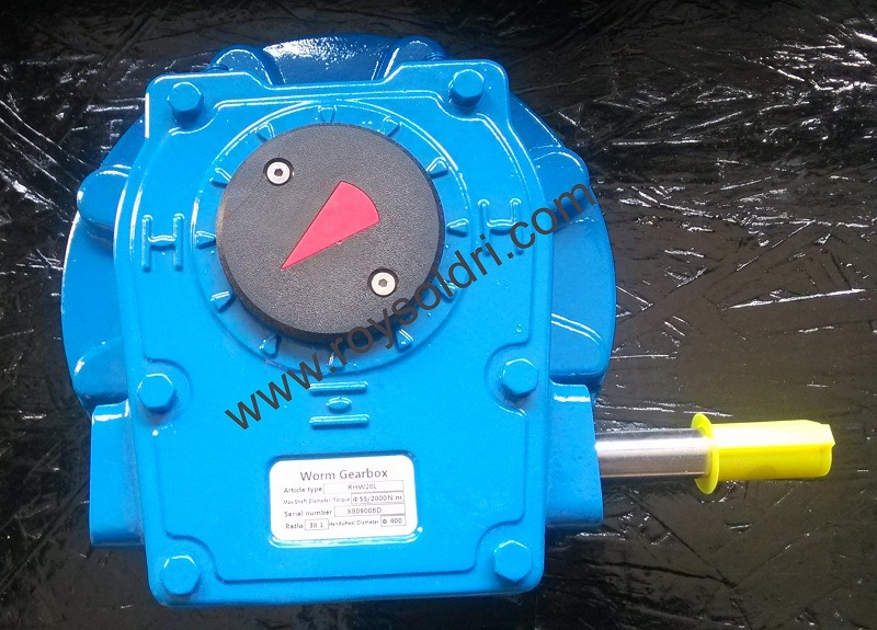 Rhw20L Worm Gearbox
