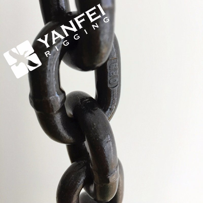 Black Oxide Lifting Load Chain (4mm-36mm)