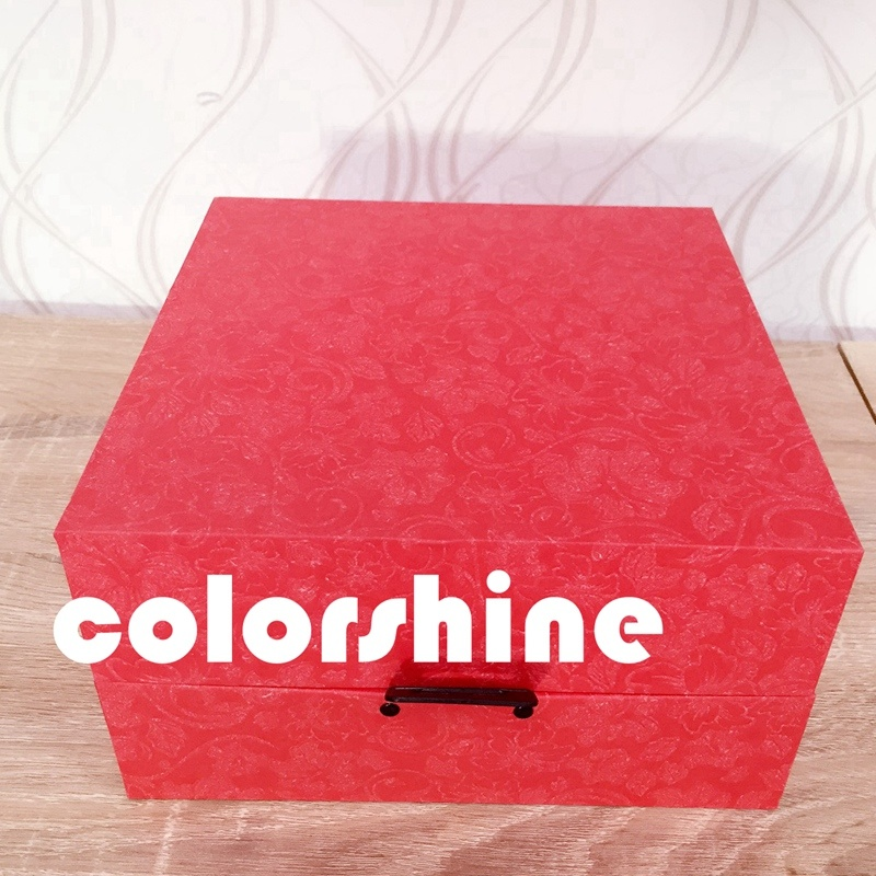 High Quality Red jewelry Display Packing Gift Box