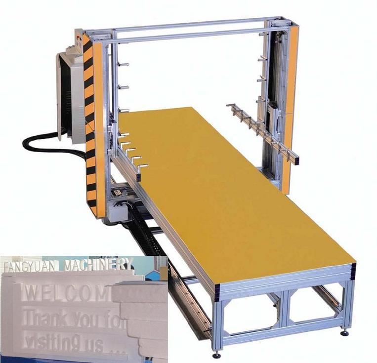 EPS Foam Hot Wire Cutting Machine