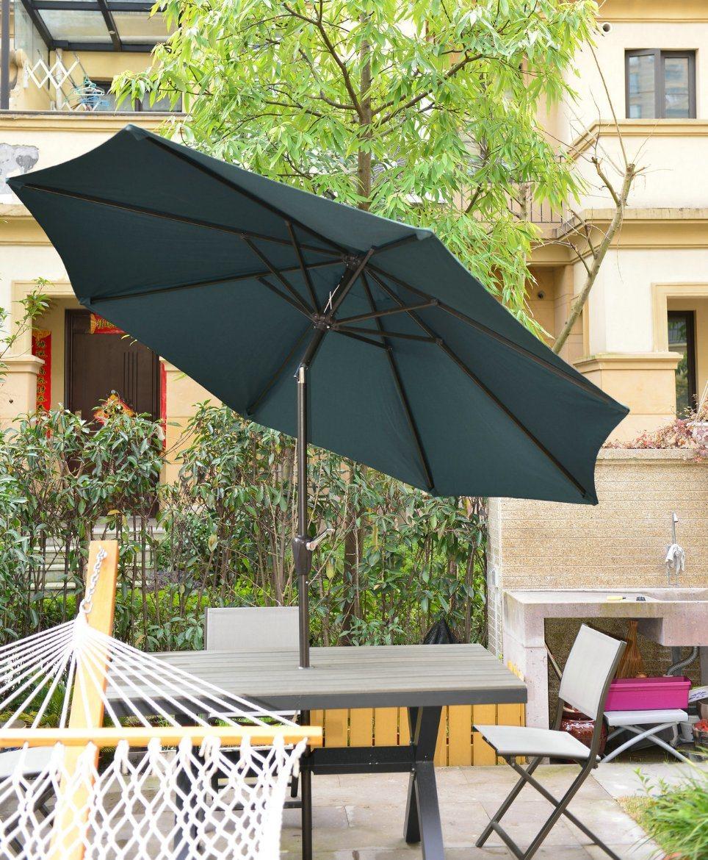 Outdoor Patio Garden Steel/Aluminium Umbrella Parasol