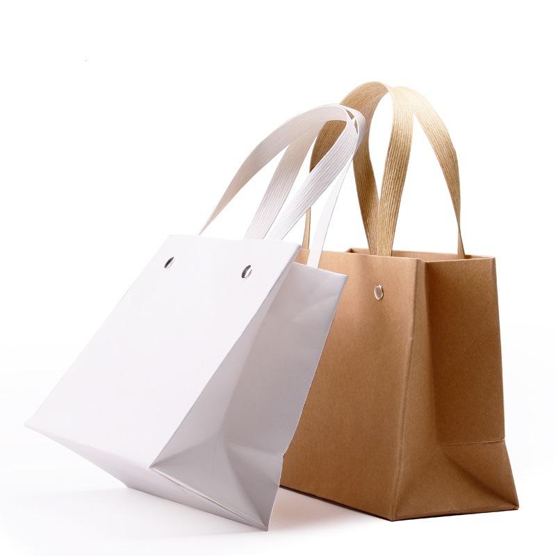 Custom Retail Paper Gift Bags/Gift Shopping Bags (FLP-8927)