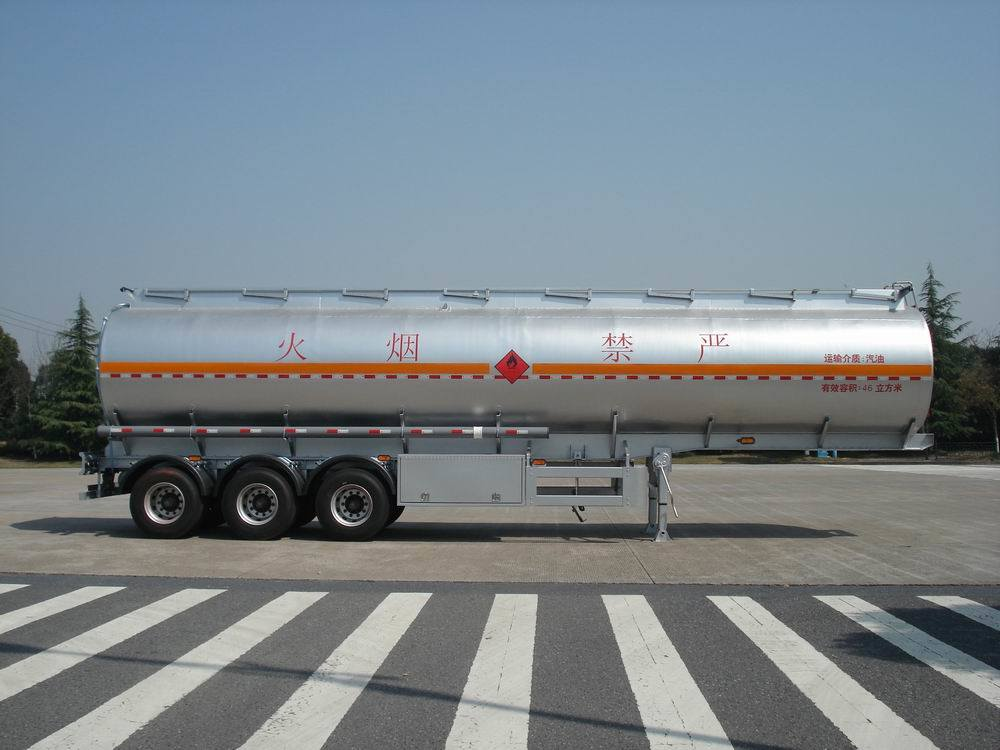 Aluminum Alloy (Fuel) Tank Trailer for Light Diesel Oil Delivery (HZZ9401GRQ)