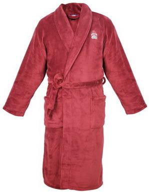 Men′s Comfortable Fleece Bathrobe with Embroidery Logo