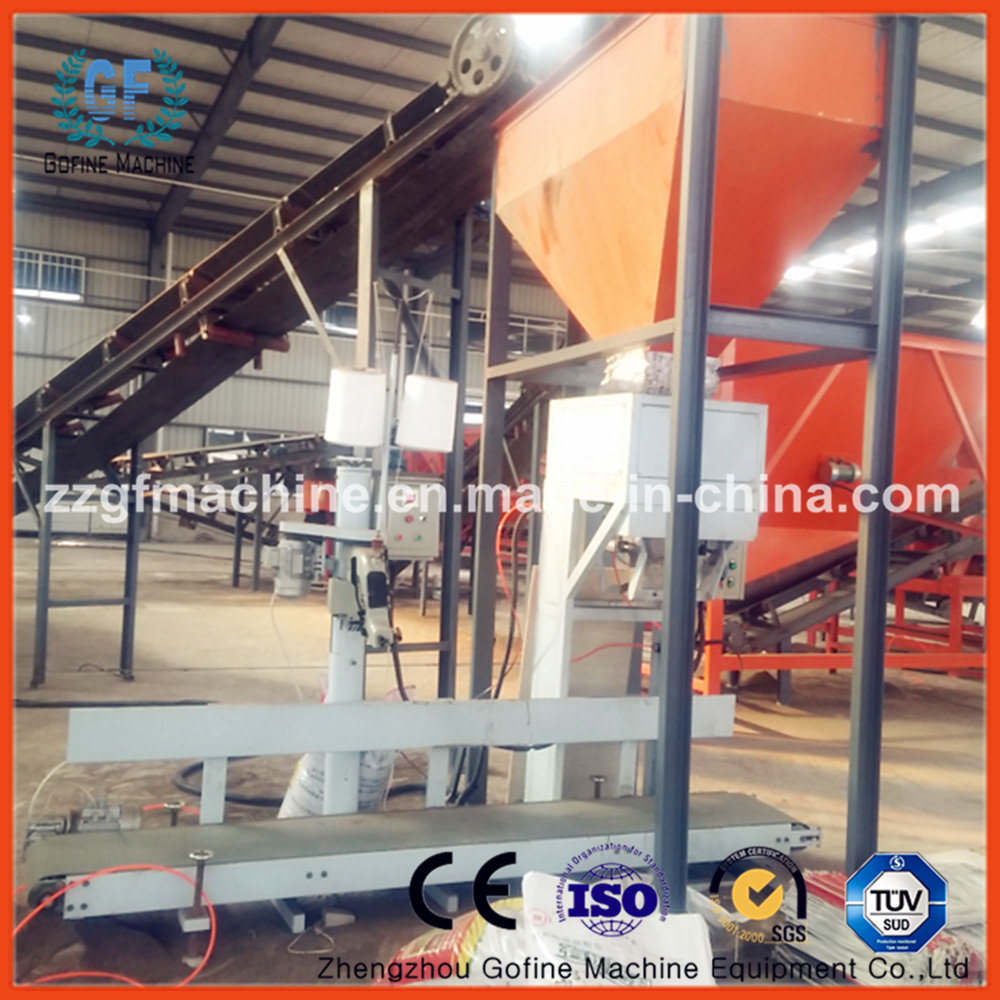 Vertical Wood Granule Packing Machine