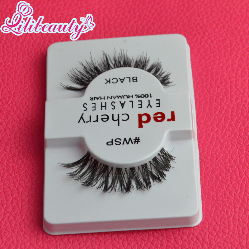 Free Sample 100% Human Hair Eyelash