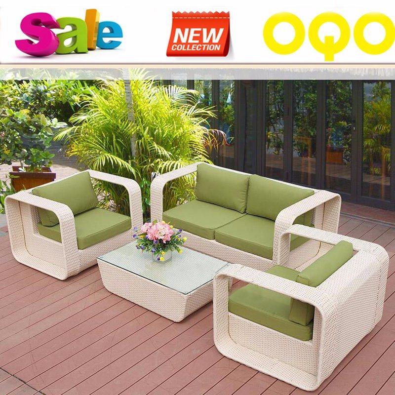 Hot Sale Outdoor Sofa PE Rattan Garden Furniture S306