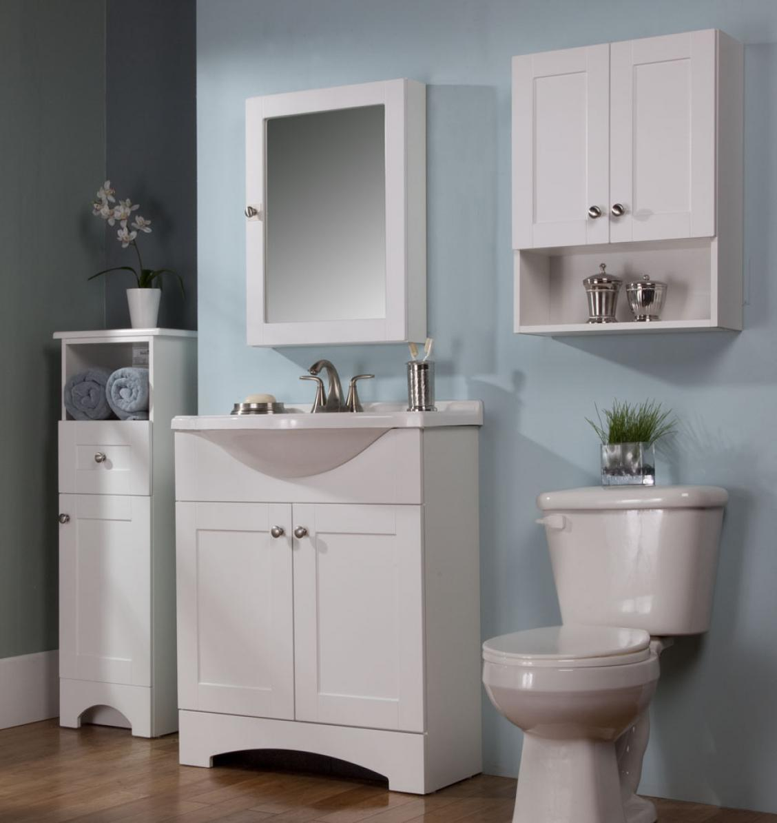 china white floor antique style wooden bathroom cabinet unit 1028