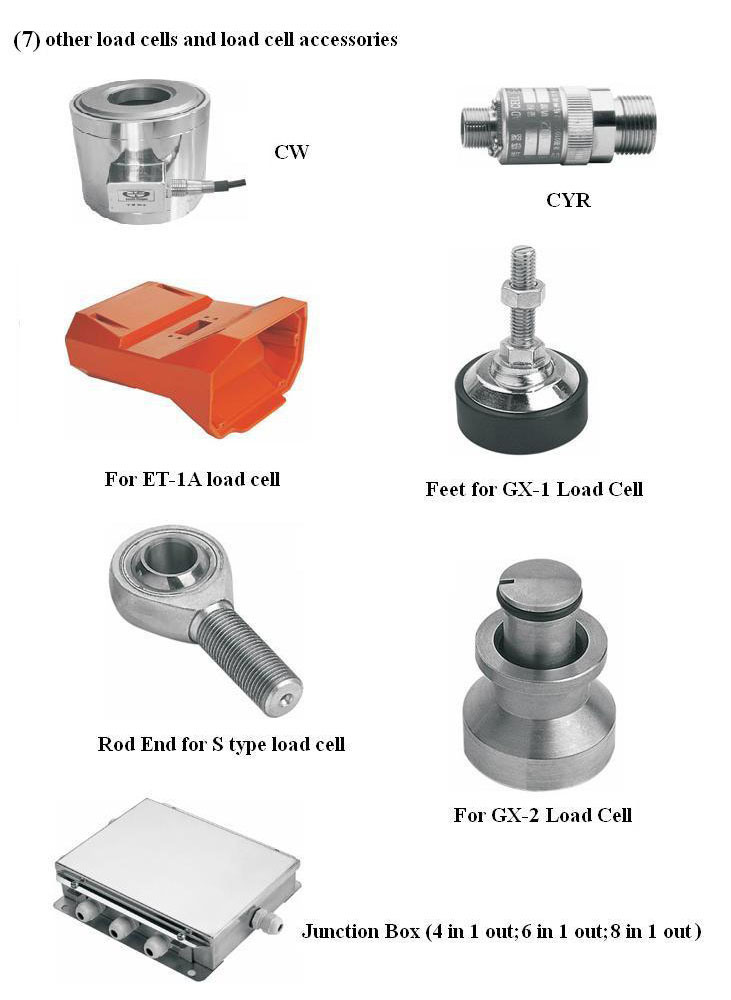 Accessories for Assembly Load Cells