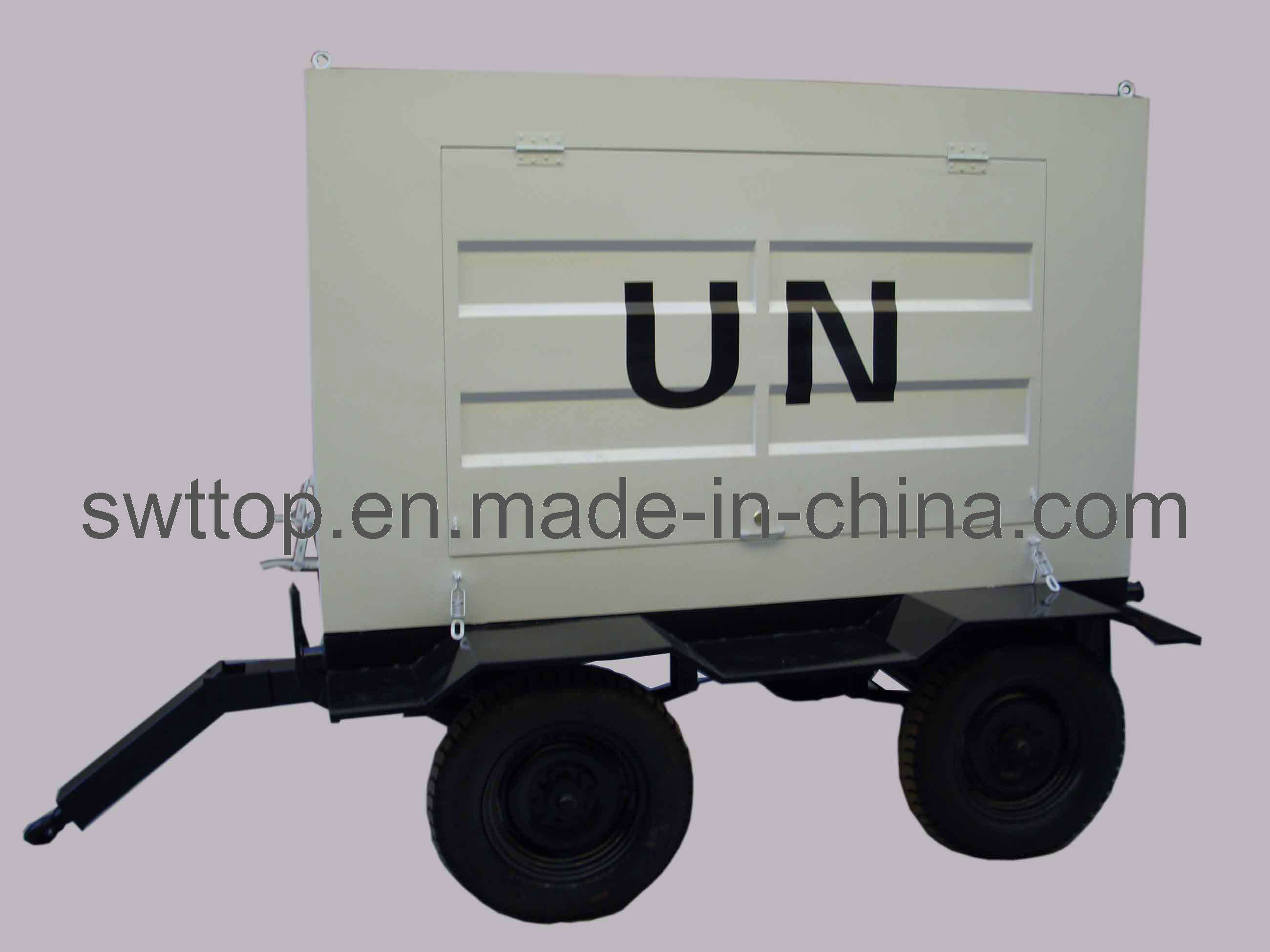 China 2017 New Design Cheap Price of 300kVA Trailer Permanent