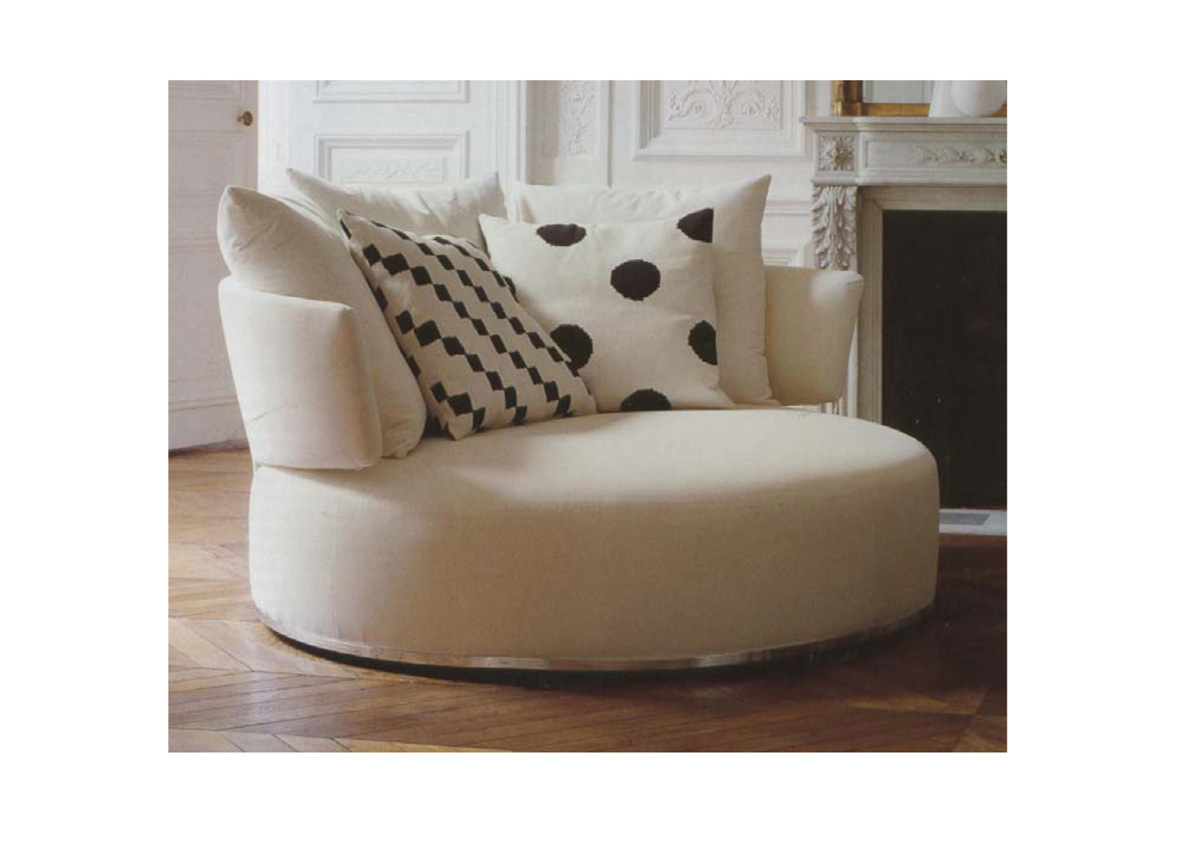Round sofa chair where to buy Circular couches living room furniture