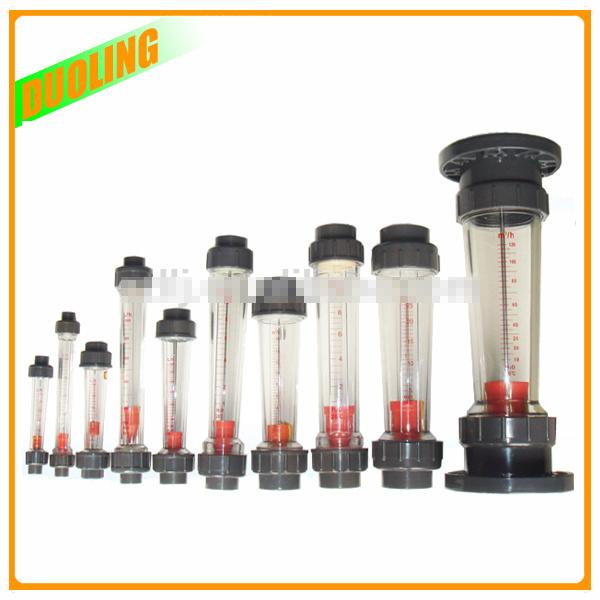 Flange Plastic Flowmeter Liquid Rotameter Air Water Rota Flow Meter