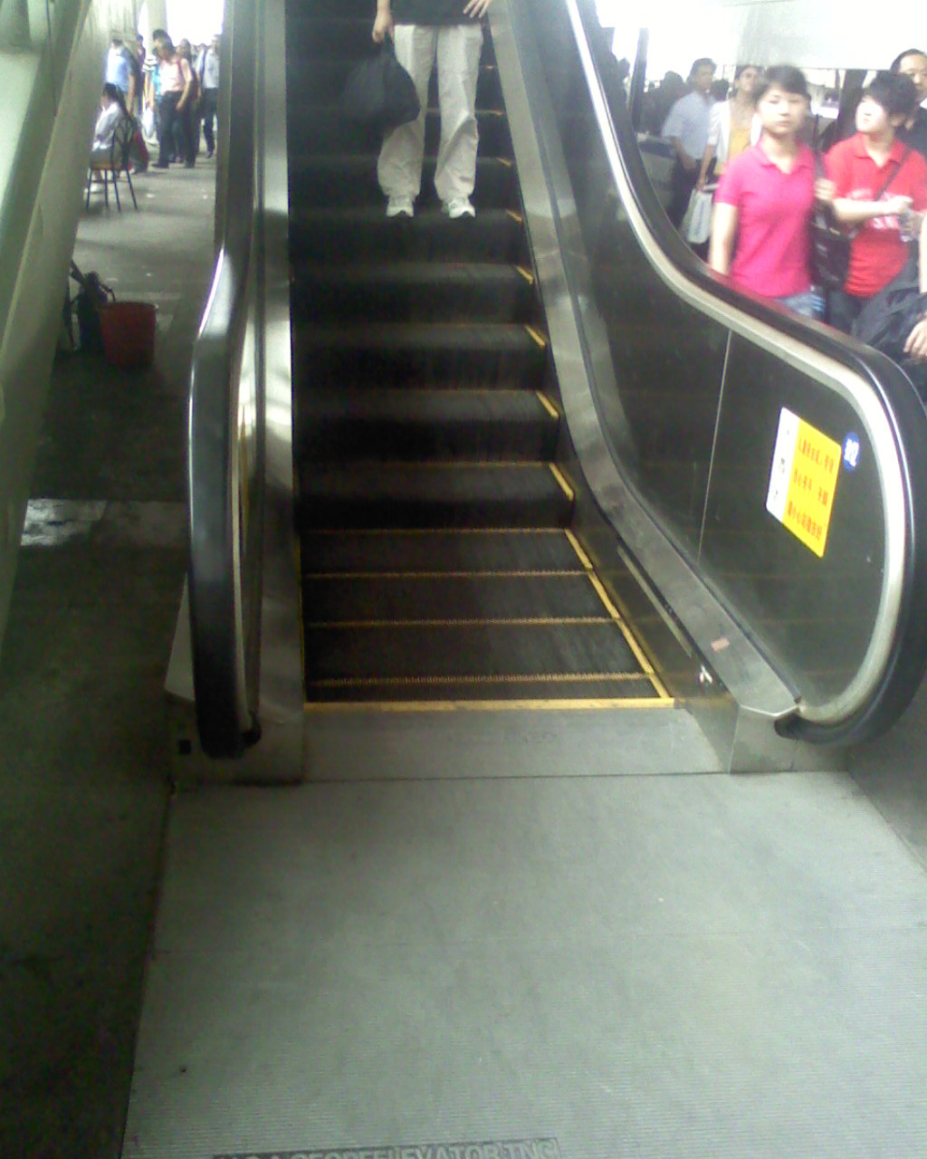 Stainless Steel Escalators : China vertical stainless steel escalator