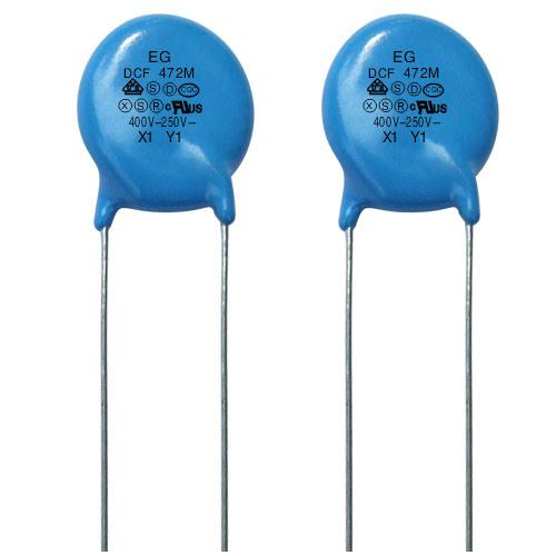 High Voltage Ceramic Capacitor Y1X1 400VAC/250VAC
