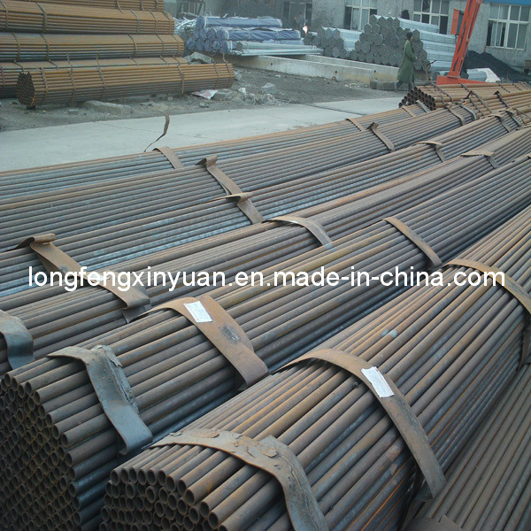 Carbon Steel Black ERW Round Steel Pipe/Tube