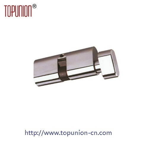 En1303 Single Opening Solid Brass Lock Cylinder with Knob