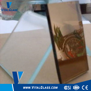 Clear&Bronze Reflective Glass with CE&ISO9001