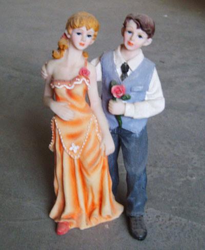 Polyresin Wedding Couples Figurines HD0007
