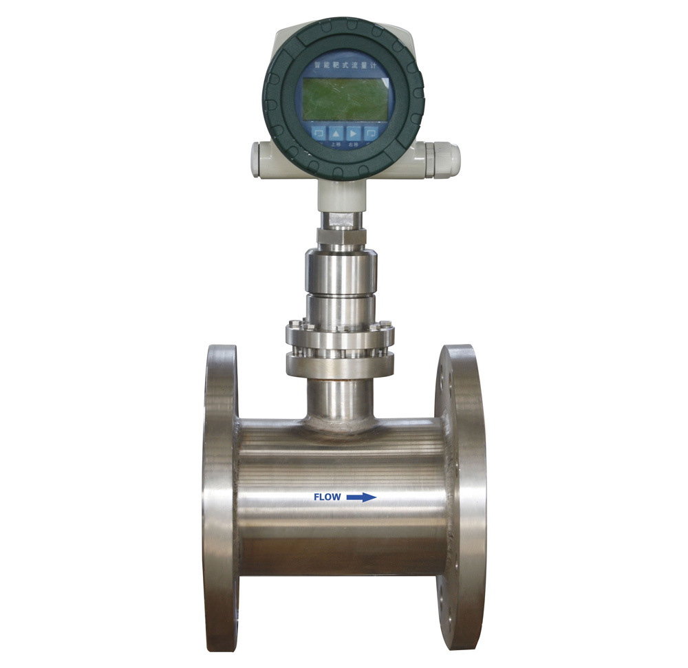 Digital Flow Meter : China sbl digital target flowmeter oil