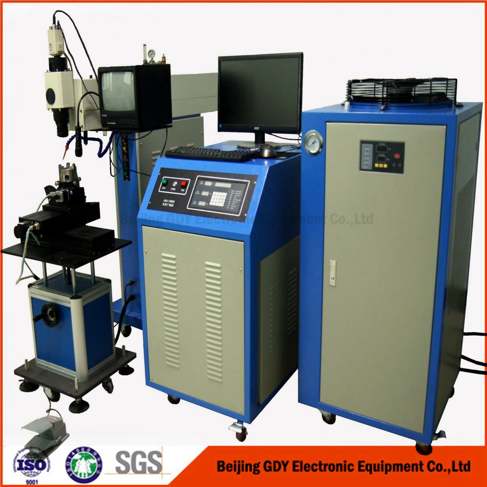 High Speed Low Cost Laser Welding Machine